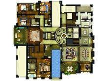 金地佘山天境5室4厅5卫户型图