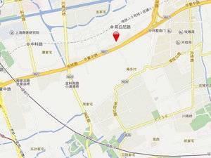 上海浦东万科翡翠公园交通图