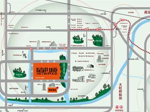 上海上海周边昆山象屿都城交通图