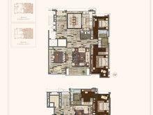 融创滨江壹号院5室4厅3卫户型图