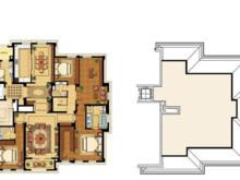 绿城兰园5室2厅4卫户型图
