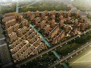 上海金山华丰格兰郡规划图
