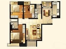 盘古嘉德4室2厅2卫户型图