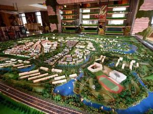 上海嘉定万科安亭新镇规划图