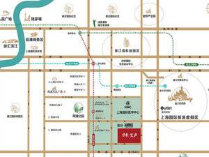 上海浦东保利艾庐交通图