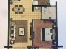 绿地长岛1室2厅1卫户型图