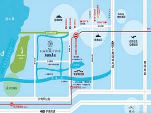 上海青浦绿地朱家角1号交通图