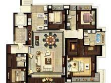 翡丽甲第4室2厅3卫户型图