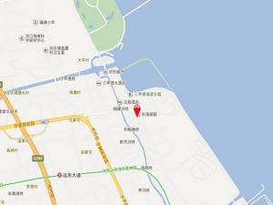 上海浦东江畔御庭交通图