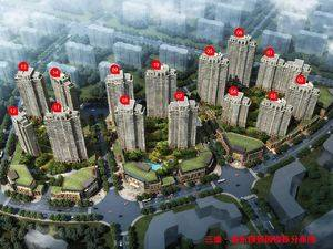 上海浦东浦东颐景园规划图