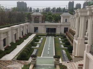 上海嘉定湖畔天下实景图
