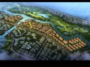 上海上海周边绿地长岛规划图