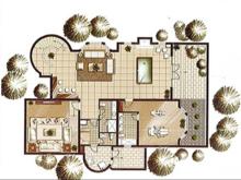 江畔御庭4室2厅3卫户型图