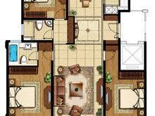 盛世御珑湾3室2厅2卫户型图