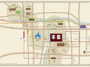 上海浦东同济东时区交通图