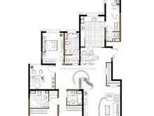 尚海湾豪庭4室2厅3卫户型图