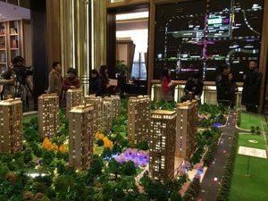 上海闸北大宁金茂府规划图