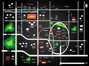 上海嘉定首创旭辉城交通图