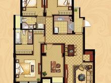 长城逸府4室2厅2卫户型图