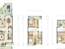 蓝湖湾别墅4室2厅3卫户型图