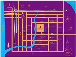 上海浦东浦东颐景园交通图