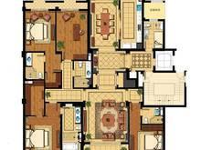 绿城兰园4室2厅4卫户型图