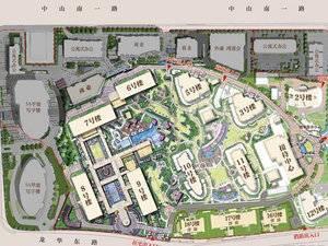 上海卢湾融创滨江壹号院规划图