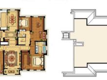 绿城兰园4室2厅3卫户型图