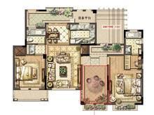 绿地长岛2室2厅2卫户型图