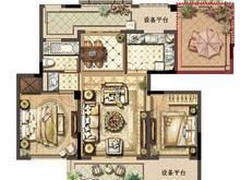 绿地长岛2室2厅1卫户型图