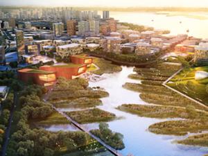 上海上海周边绿地长岛效果图