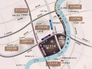 上海卢湾融创滨江壹号院交通图