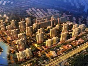 上海浦东万科海上传奇规划图