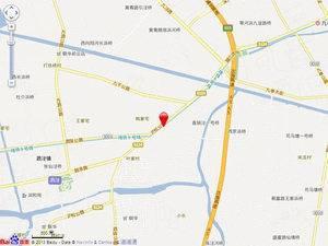 上海松江绿城兰园交通图