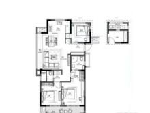 新城海上风华3室2厅2卫户型图