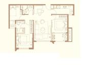 中骏天悦3室2厅2卫户型图