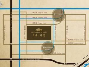 上海金山正荣璟园交通图