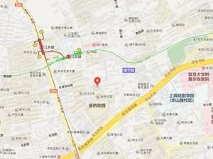上海长宁尚泰里交通图