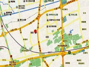 上海浦东华发四季交通图