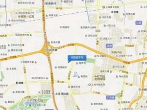 上海闸北明园揽翠苑交通图